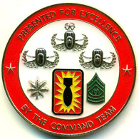Challenge Coins for Excellence f-1